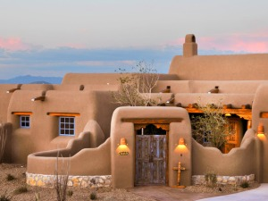 New-Mexico-Homes-spanish-home-exterior-blue-windows_s4x3_lg