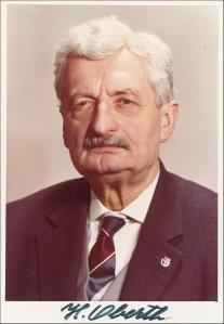Profesor Hermann Oberth