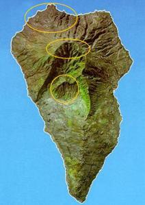 Grandes concentraciones de grabados rupestres en La Palma