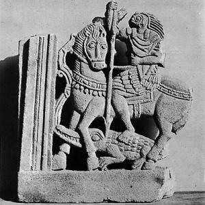 horus matando al dragón-cocodrilo