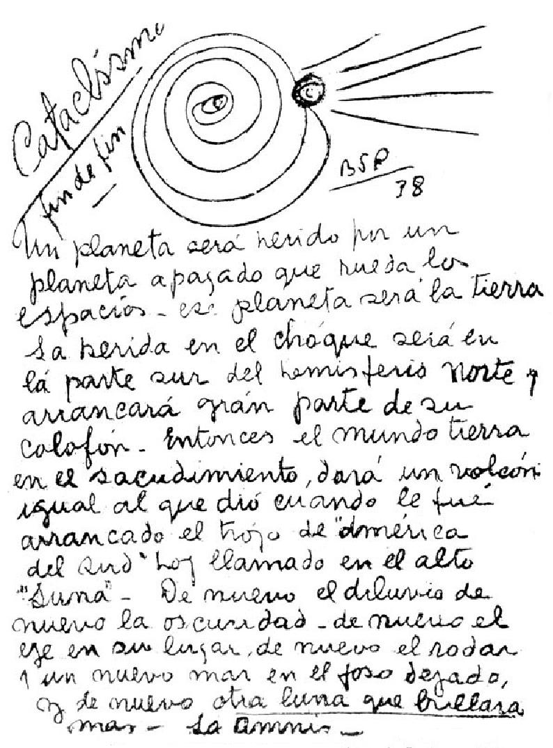 AS PROFECIAS DE BENJAMIN SOLARI PARRAVICINI (Portugues) Planeta-herido