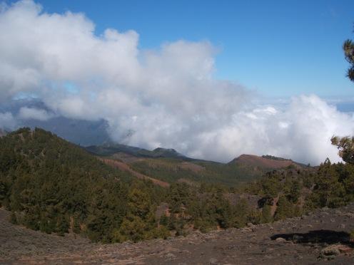 Vista parcial Ruta de los Volcanes