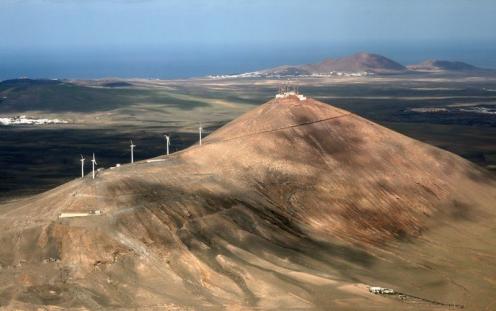 Montaña Mina en San Bartolomé
