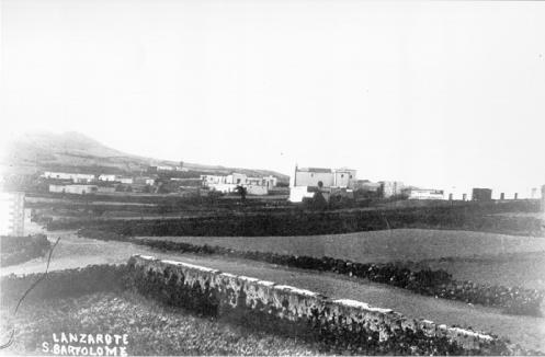 San Bartolomé - Lanzarote, principios del siglo XX