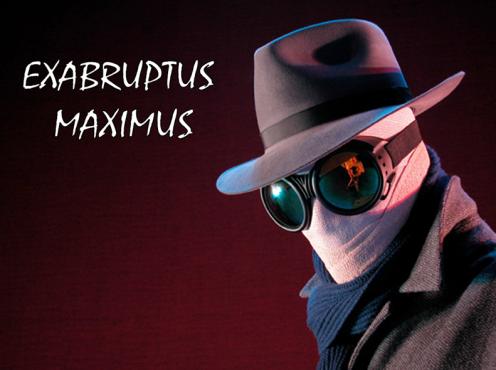Exabruptus maximus cabecera